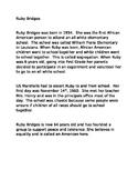 Ruby Bridges Biography & Timeline