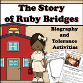 RUBY BRIDGES - Biography Study With Tolerance Group Activities
