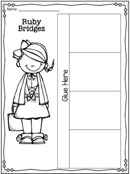 Ruby Bridges {Black History Month/Women's History Month}