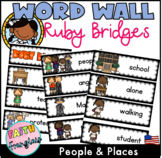 Ruby Bridges -Black History Word Wall