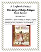 Ruby Bridges Book Report and Lapbook
