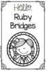 Ruby Bridges Booklet for Young Readers - Emergent Reader Black History