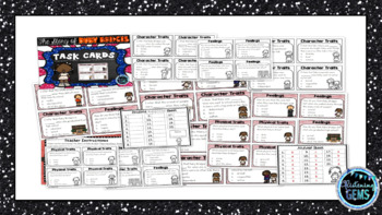 The Story of Ruby Bridges - Character Trait Task Cards