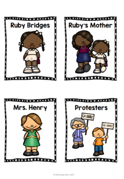 Ruby Bridges Character Traits Game
