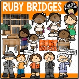 Ruby Bridges Clip Art Bundle {Educlips Clipart}