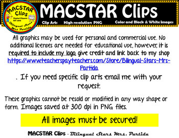 Ruby Bridges Clipart   Personal and Commercial Use 46 images!