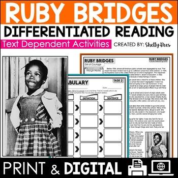 Ruby Bridges Close Reading Passage FREEBIE