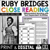 Ruby Bridges Reading Passage FREE