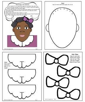 Ruby Bridges Craft & Writing