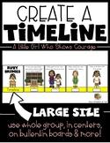 Ruby Bridges {Create a Timeline} Black History Month Kindergarten & First Grade