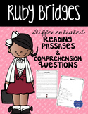 Ruby Bridges Differentiated Reading Passages & Questions