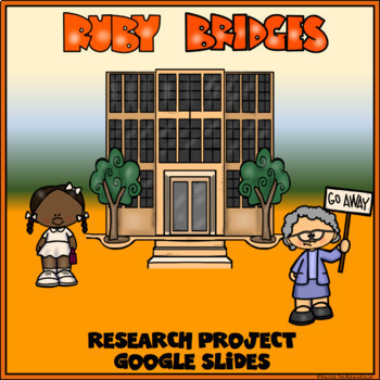 Ruby Bridges Digital Research Project in Google Slides™