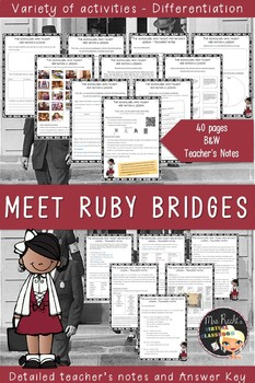 Ruby Bridges Unit