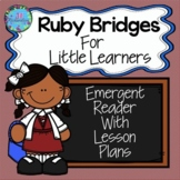 Ruby Bridges Reader Black History Month Kindergarten, 1st