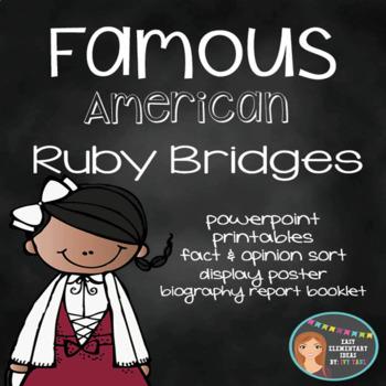 Ruby Bridges Poster Worksheets Teachers Pay Teachers