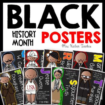 Ruby Bridges, George Washington Carver BLACK HISTORY MONTH