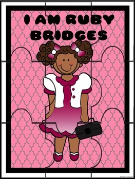 Ruby Bridges Goes To School Black History Month Lesson Activities Worksheets