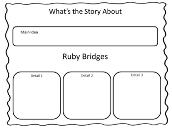 Ruby Bridges Goes to School  ~ 40 pgs. Common Core Activities