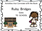 Ruby Bridges Goes to School  ~ 40 pgs. Common Core Activities