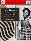 Ruby Bridges Goes to School: Text-Dependent Questions and more!