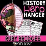 Ruby Bridges History Hero Hanger Craft for Black History Month