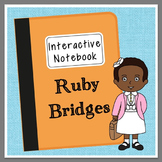 Ruby Bridges Interactive Notebook, Civil Rights, Black History Month