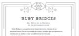 Ruby Bridges: Level 1 Reading in Spanish