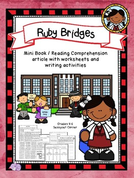 Ruby Bridges Mini Book Foldable and Comprehension Packet