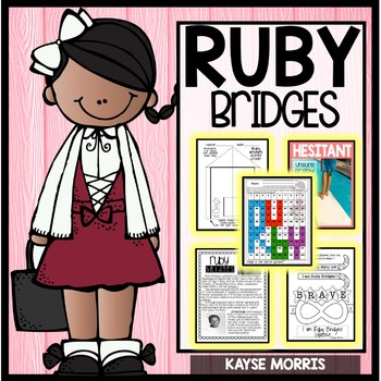 Ruby Bridges  Women's History Month Activities