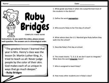 Ruby Bridges - Complete Movie Guide