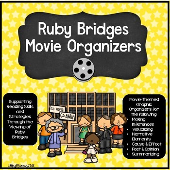 Ruby Bridges Movie Packet: Organizing Your Ideas w/Reading