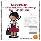 Black History Month Reading Passage - Ruby Bridges