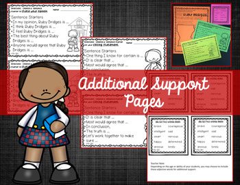 Ruby Bridges Opinion Writing Packet