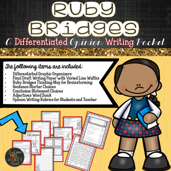 Ruby Bridges Opinion Writing Packet