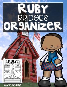 Ruby Bridges Organizer Black History Month Activities