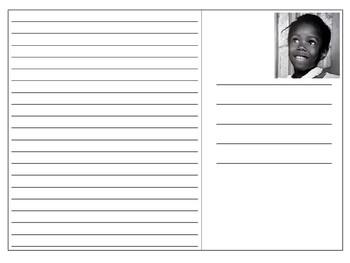 Ruby Bridges Postcard Templates