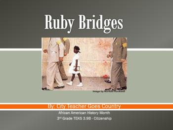 Ruby Bridges Power Point w/ Video Link (powerpoint) Social Studies & Citizenship