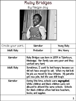 Ruby Bridges Readers' Theater