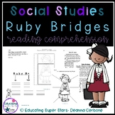 Ruby Bridges Reading Comprehension and Graphic Organizers