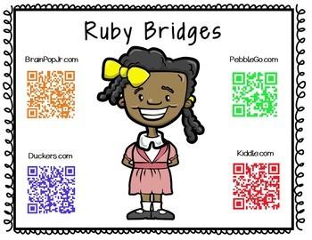 Ruby Bridges Research Mini-Booklet