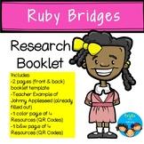 Ruby Bridges-Historical Figure Research Booklet
