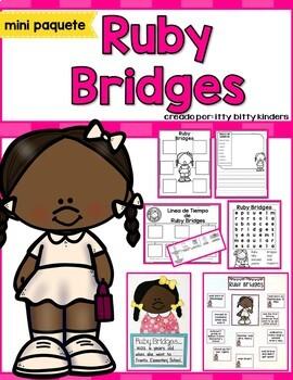Ruby Bridges SPANISH Version, Black History Month
