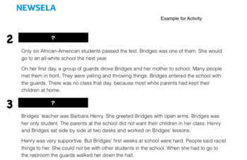 Ruby Bridges Social Studies Lesson Plan (3rd Grade/NEWSELA)
