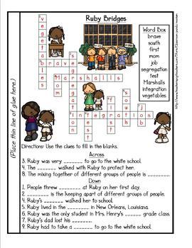 Ruby Bridges Tab Booklet