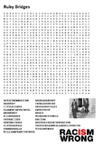 Ruby Bridges Word Search