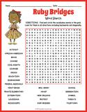 Ruby Bridges Word Search & Crossword Worksheets