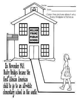 Ruby Bridges Worksheets