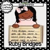 Ruby Bridges Writing Cut and Paste Craftivity
