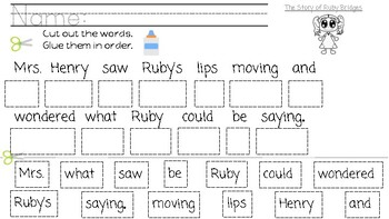 Ruby Bridges by Robert Coles capitalizing proper nouns POP