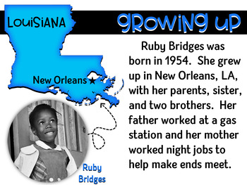 Ruby Bridges eBook ~ Black History Month